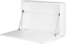 JOX, Furniture Kirjoituspöytä Seinään kiinnitettävä Valkoinen