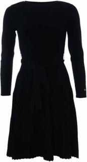 Morris Lady Ancelin Knit Dress Black Klänning