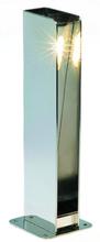 Royal Botania Non-Side havelampe, Poleret rustfrit stål