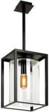 Royal Botania Dome Ceiling Short udendørs loftlampe, Klar/sort