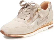 Sneakers dragkedja från Gabor beige