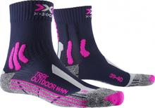 X-Socks wandelsokken Trek Outdoor microvezel roze