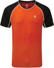 Dare 2B sportshirt Conflux heren polyester/wol oranje