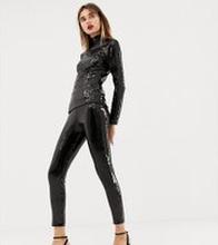 Warehouse x Ashish - Svarta leggings med paljetter - Svart