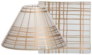 Yankee Candle Copper Elegance Large Shade & Tray Set 2 st