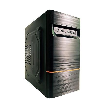 Dynamode LockStock serien Gaming M-ATX PC Case - svart (LM-GC05)