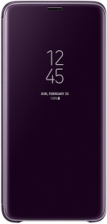 Samsung Galaxy S9 Clear View Standing Cover - Lila