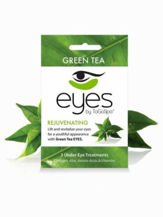 ToGoSpa 3 Under Eye Treatments Green Tea