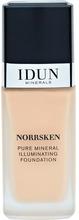 IDUN MINERALS Liquid Foundation Norrsken Siri 30 ml