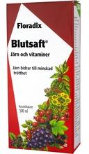 Floradix Blutsaft - stor flaska 500ml