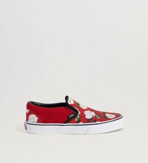 Vans Sneakers UA Classic Slip - On Romantic Floral Chili P Röd