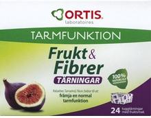 Frukt & Fibrer Främjar norm tarmf 24 st