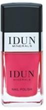 IDUN MINERALS Nail Polish- Cinnober 11ml