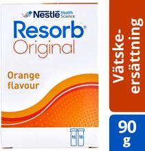 Resorb Original apelsin Vätskeersättning med apelsinsmak. 90 g