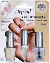 Depend Fransk Manikyrset Nagellack