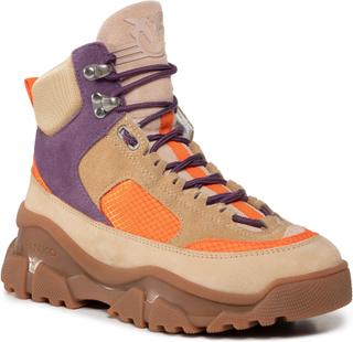 Sneakers PINKO - Love Trek High 2 AI 20-21 PBKSH 1P21XZ Y6PV Mult. Beige CY4