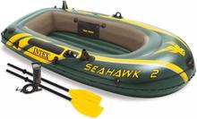 Intex Uppblåsbar båt Seahawk 2med pump och åror 68347NP