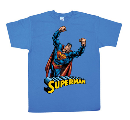 Superman Flying T-Shirt, Basic Tee