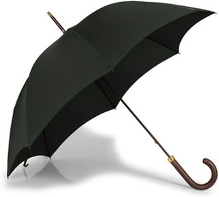 Paraplyer von Fox Umbrellas. Grösse: One size. Farbe: Grøn. Fox Umbrellas Polished Hardwood Umbrella Racing Green