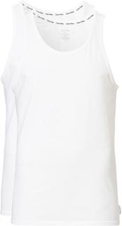 Undertøj von Calvin Klein. Grösse: L. Farbe: Hvid. Calvin Klein Cotton Tank Top 2-Pack White