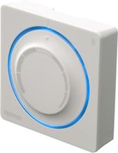 Uponor Smatrix Wave trådløs termostat med dreieskive, hvit