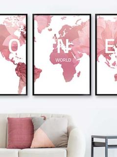verdenskort rose