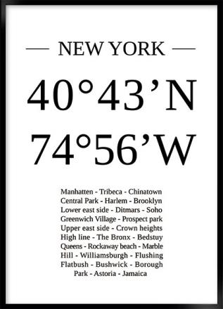 New York lokation