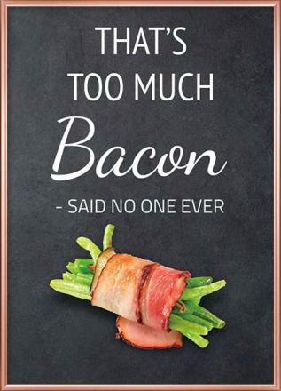 ikke for meget bacon