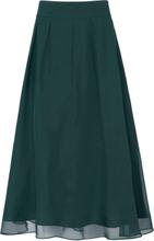 Kjol i 100 % silke från Uta Raasch grön