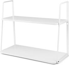 JOX, Furniture Seinähylly 2 tasoa Valkoinen