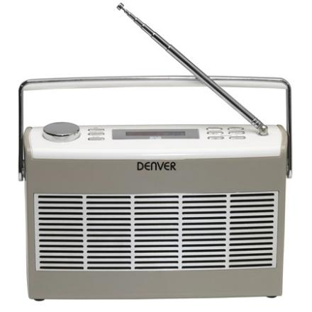 Denver DAB+ & FM-radio i retro-style