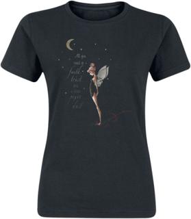 Peter Pan - Tinker Bell Pixie Dust -T-skjorte - svart