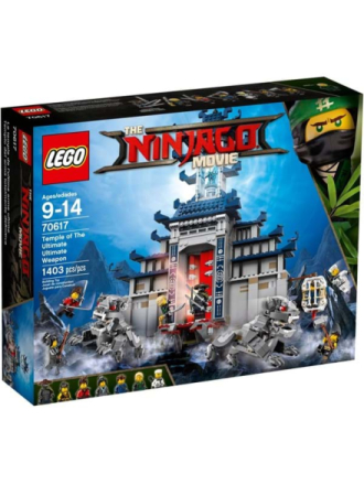 Ninjago Temple of the Ultimate Ultimate - Proshop