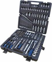 KS Tools CHROMEplus Spärrhandtag hylsor och bits 216 delar 180216