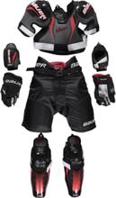 Bauer Lil Sport Yth Kit Jääkiekkosuojat BLACK