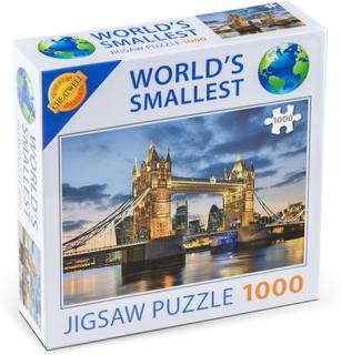 Världens Minsta 1000-bitars Pussel Tower Bridge