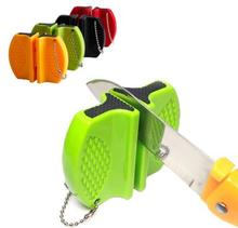 Portabel mini-knivsliper for utflukt eller kjøkken (Color: Black)