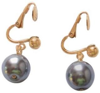 Perle ørepynt perle øredobber perle øredobber gull belagt øredobber...