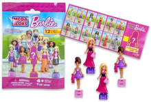 1-Pack Mega Bloks Barbie Figure Doll Docka Med Tillbehör Blind Bags