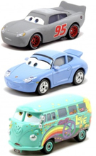 3-Pack Cars Bilar Radiator Springs Classic McQueen, Sally & Fillmore Diecast