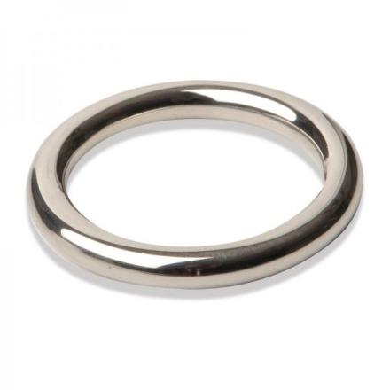 Metalowy Pierscień Erekcyjny Fine 45mm/ 8mm   100% DYSKRECJI   BEZPIECZNE ZAKUPY