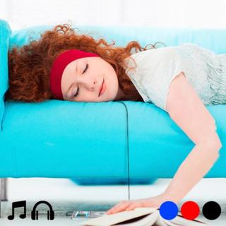 Bånd med integrerede høretelefoner 145142 Sort