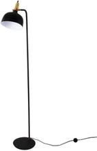 Golvlampa Pir 35 - Svart / Koppar