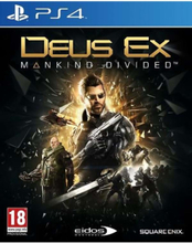Deus Ex: Mankind Divided - Sony PlayStation 4 - Action