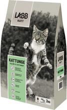 Kattmat Labb Kattunge, 3 kg