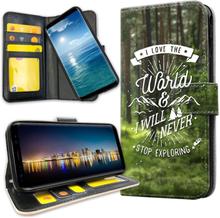 Samsung galaxy s20 ultra - mobilfodral love the world citat