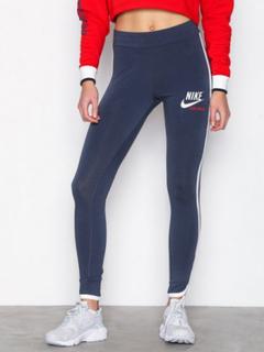 Nike NSW Archive Leggings Leggings Blå