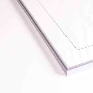 Tavelram i silver, 70x100