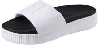 Puma Platform Slide Sandals puma white/puma black 6.0 UK
