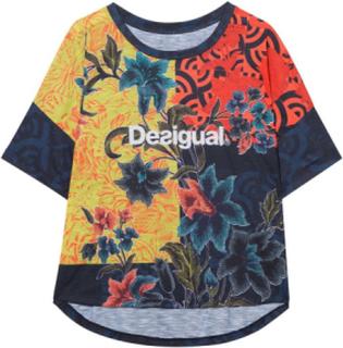Desigual - unisex - Women's T-shirt - Desigual Geopatch |Desigual.com - Desigual Geopatch - Size S